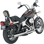 Vance & Hines Pro Pipe HS 2-Into-1 Exhaust - Suzuki 2015-INTRUDER-1500-VL1500--VANCE-HINES-2INTO1-PRO-PIPE-HS Cruiser Exhaust