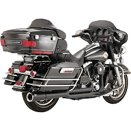 Vance & Hines Pro Pipe Exhaust - Black - 2005 Harley Davidson Electra Glide Standard - FLHT Vance & Hines Competition Series Slip-On Exhaust - Black