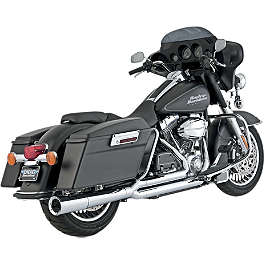 Vance & Hines Pro Pipe Exhaust - Chrome - Vance & Hines 3-1/2