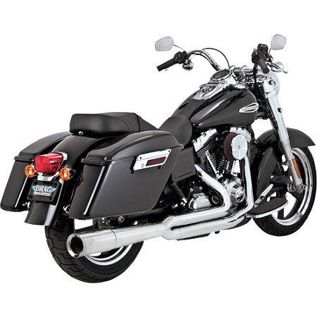 Vance & Hines Pro Pipe Exhaust - Chrome - Main