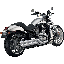 Vance & Hines Power Shots Exhaust - Chrome - Baron Big 'N Nasty Pipes