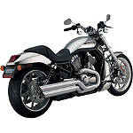 Vance & Hines Power Shots Exhaust - Chrome - Vance and Hines Cruiser Exhaust