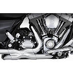 Vance & Hines Power Duals Headpipe System - Chrome - Vance and Hines Cruiser Exhaust