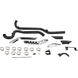 Vance & Hines RSD Tracker Duals Exhaust Headers - Black - Vance & Hines 3-1/2