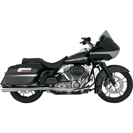 Vance & Hines Tapered Slash-Cut Slip-On Exhaust - Chrome - Main