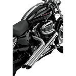 Vance & Hines Sideshots Exhaust - Chrome - Vance and Hines Cruiser Exhaust
