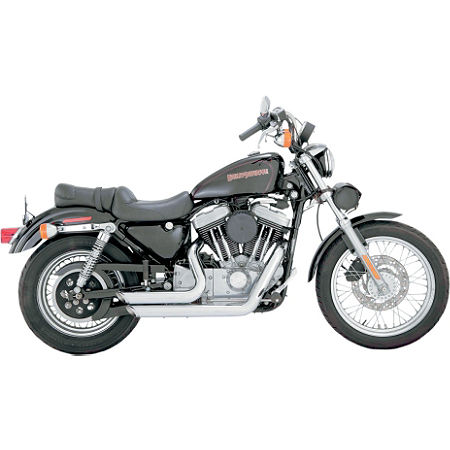Vance & Hines Shortshots Staggered Exhaust - Chrome - Main