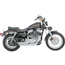Vance & Hines Shortshots Staggered Exhaust - Chrome - Vance & Hines Straightshots Exhaust - Chrome