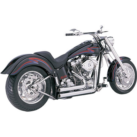 Vance & Hines Shortshots Exhaust - Chrome - Main