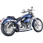 Vance & Hines Shortshots Exhaust - Chrome -  Metric Cruiser Full Exhaust Systems