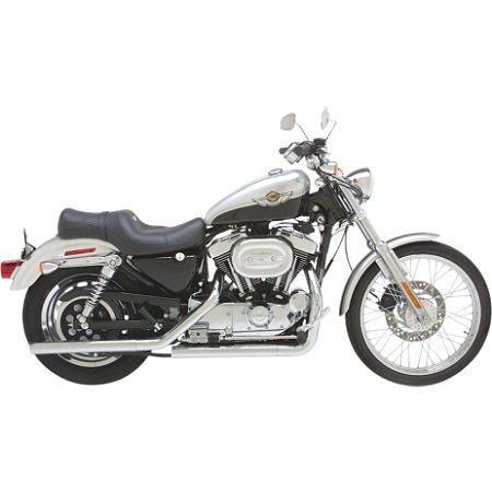 Vance & Hines Straightshots Exhaust - Chrome - Main