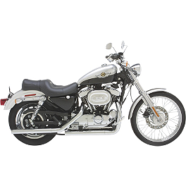 Vance & Hines Straightshots Exhaust - Chrome - Vance & Hines Q-Series Double Barrel Exhaust - Chrome