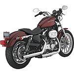 Vance & Hines Straightshots Slip-On Exhaust - Chrome - Vance and Hines Cruiser Products
