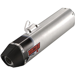 Vance & Hines XCR Slip-On Exhaust - FMF Q4 Spark Arrestor Slip-On Exhaust