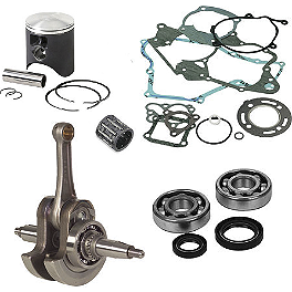 Hot Rods / Vertex Complete Top & Bottom End Kit - 2-Stroke - 2007 Honda CR85 Big Wheel Vertex 2-Stroke Piston Kit - Stock Bore