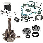 Hot Rods / Vertex Complete Top & Bottom End Kit - 2-Stroke - Dirt Bike Cranks and Rods