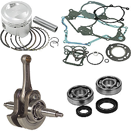 Hot Rods / Vertex Complete Top & Bottom End Kit - 4-Stroke - 2008 Suzuki RMZ250 Vertex 4-Stroke Piston - Stock Bore