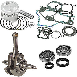 Hot Rods / Vertex Complete Top & Bottom End Kit - 4-Stroke - Vertex 2-Stroke Piston Kit - Stock Bore