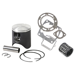 Vertex 2-Stroke Piston Kit - Stock Bore - 2007 Kawasaki KX100 Wiseco Pro-Lite Piston Kit - 2-Stroke