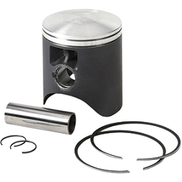 Vertex 2-Stroke Piston - Stock Bore - 2007 Kawasaki KX100 Cometic Top End Gasket Kit