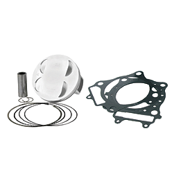 Vertex 4-Stroke Piston Kit - Stock Bore - 2008 Yamaha GRIZZLY 660 4X4 Vertex 4-Stroke Piston - Stock Bore