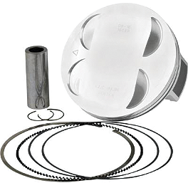 Vertex 4-Stroke Piston - Stock Bore - 2008 Yamaha GRIZZLY 700 4X4 Cometic Top End Gasket Kit