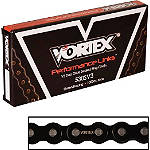 Vortex 530 SV3 Black Street / Roadrace Sealed Chain - 120 Links - 530 Motorcycle Chains and Master Links