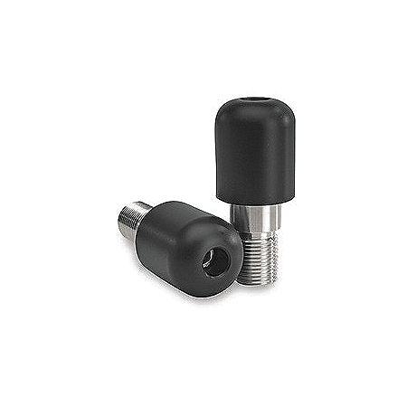 Vortex Bar End Sliders - Black - Main