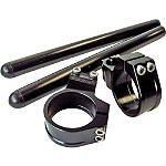Vortex 7 Degree Clip-Ons 50mm - Black - VORTEX-7-DEGREE-CLIPON-50MM-BLACK Vortex Motorcycle