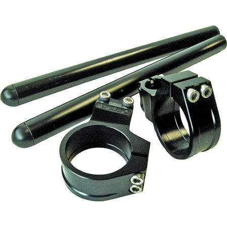 Vortex 0 Degree Clip-Ons 50mm - Black - Main