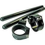 Vortex 0 Degree Clip-Ons 50mm - Black - Vortex Dirt Bike Products
