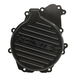 Vortex Left Side Stator Cover - Black - 2009 Honda CBR1000RR ABS Vortex Stunt Rear Sprocket 60 Tooth