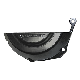 Vortex Left Side Stator Guard - Black - Vortex Right Side Clutch Guard - Black