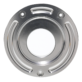 Vortex Color Gas Cap Base - 2008 Kawasaki ZX1400 - Ninja ZX-14 Vortex Sprocket & Chain Kit 530 - Silver