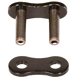 Vortex 525 RV3 Black Master Link - Rivet Style - Vortex 0 Degree Clip-Ons 50mm - Black