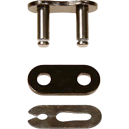 Vortex 525 SV3 Black Master Link - Clip Style - 2009 Triumph Speed Triple Vortex Replacement Pin For Single Sided Swingarm Stand - Left