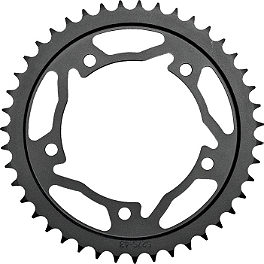 Vortex Steel Rear Sprocket - 520 - 2010 Kawasaki EX650 - Ninja 650R Vortex Sprocket & Chain Kit 520 - Silver