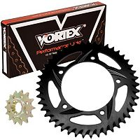 Vortex Sprocket & Chain Kit 520 - Black