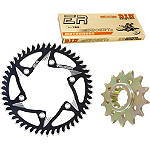 Vortex Chain & Sprocket Kit - Vortex Dirt Bike Dirt Bike Parts