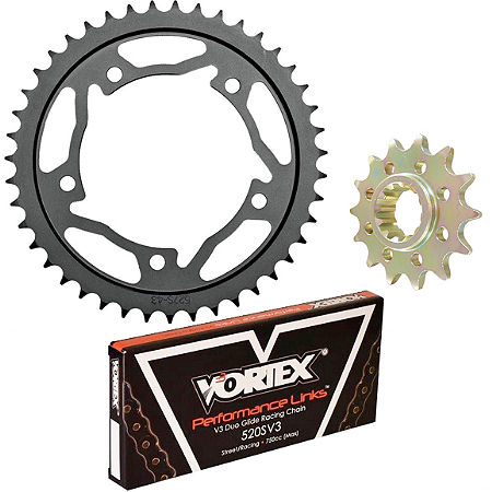 Vortex 520 Steel Sprocket & Chain Kit - Main
