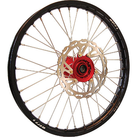 Warp 9 Complete Front Wheel 1.60X21 - Red/Black - Main