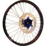 Warp 9 Complete Front Wheel 1.60X21 - Blue/Black - Applied Dirt Bike Complete Wheels