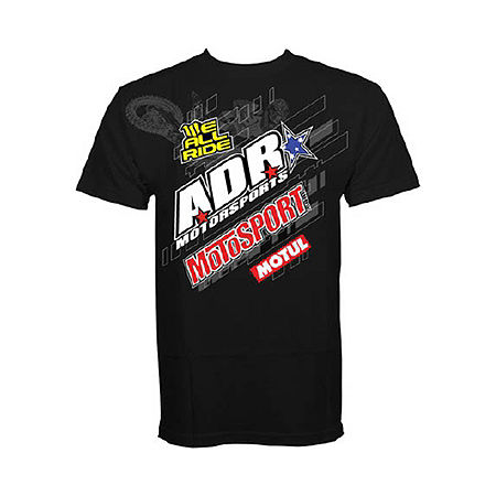 2013 We All Ride Motosport Supercross Sponsor Tech T-Shirt - Main