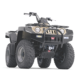Warn Front Bumper - 2000 Polaris XPLORER 400 4X4 Warn Winch Mounting System