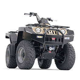 Warn Front Bumper - 2001 Suzuki LT-A500F QUADMASTER 4X4 High Lifter Lift Kit