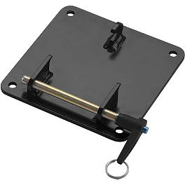 Warn Portable Winch Carry Plate - Warn XT17 Portable Winch-Controls On Vehicle