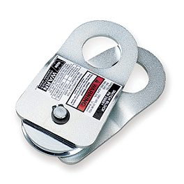 Warn Shackle Snatch Block - Warn Vantage 3000-S Winch