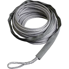 Warn Synthetic Rope Extension - 8 Feet - Cycle Country Synthetic Rope - 50Ft