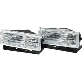 Warn Trail Lights - 1997 Polaris XPLORER 400 4X4 Warn Front Bumper