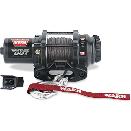 Warn Vantage 2000-S Winch - 2003 Yamaha KODIAK 450 4X4 Warn Winch Mounting System